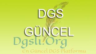 2019 DGSEk Yerleştirme Tercihleri