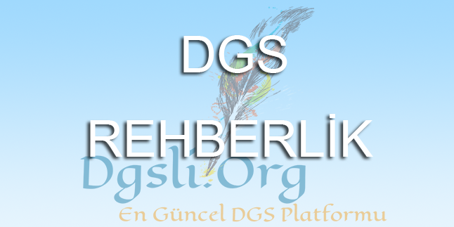 2018 DGS Konu Başlıkları