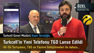 Turkcell T60 lanse edildi: Yeni Genel Müdür Kaan Terzioğlu ile konuştuk