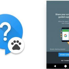 Google, Nexus cihazları için ekran paylaşımına sahip destek uygulaması geliştiriyor